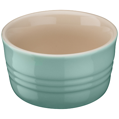 Le Creuset Stoneware Ramekins, Set of 2, Cool Mint