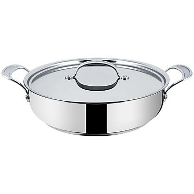 Jamie Oliver by Tefal Stainless Steel Shallow Casserole, Dia.30cm