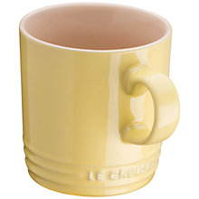 Buy Le Creuset Mug, Elysees Yellow Online at johnlewis.com