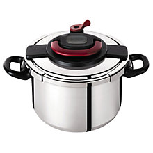 Buy Tefal Clipso Plus 6 Litre Pressure Cooker Online at johnlewis.com