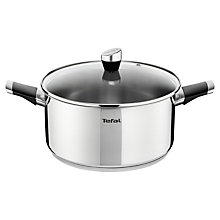 Buy Tefal Emotion Stainless Steel Stew Pot, 24cm Online at johnlewis.com
