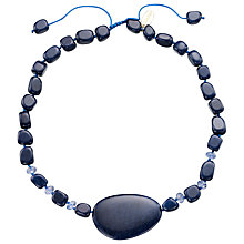 Buy Lola Rose Bay French Quartzite Necklace, Navy Online at johnlewis.com