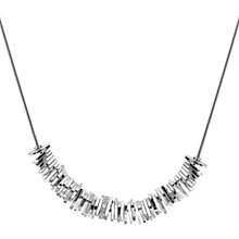 Buy Hot Diamonds Sterling Silver By The Shore Beach Necklace, Silver Online at johnlewis.com