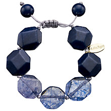 Buy Lola Rose Susanna Navy Rock Crystal/French Navy Quartzite Bracelet, Blue Online at johnlewis.com