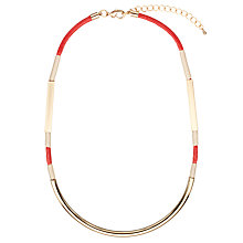 Buy John Lewis Stripe Scoop Necklace Online at johnlewis.com