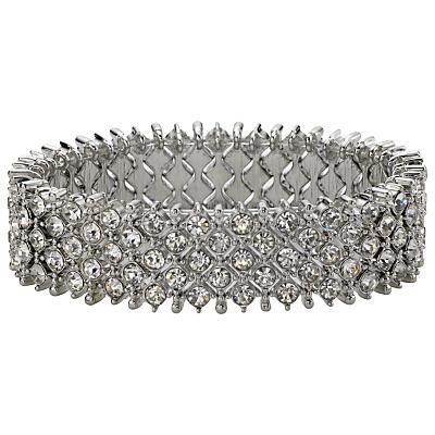 John Lewis Bling Stretch Bracelet, Silver