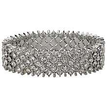 Buy John Lewis Bling Stretch Bracelet, Silver Online at johnlewis.com