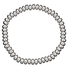 Buy John Lewis Plain Bead Bracelet, Silver Online at johnlewis.com