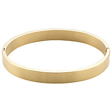 Buy John Lewis Matte Oval Bangle Online at johnlewis.com