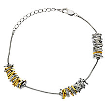 Buy Hot Diamonds By The Shore Beach Bracelet, Gold/Silver Online at johnlewis.com