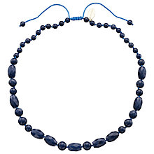 Buy Lola Rose Athene French Quartzite Necklace, Navy Online at johnlewis.com