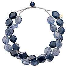 Buy Lola Rose Kolette Crystal Quartz Necklace, Navy Online at johnlewis.com