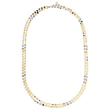 Buy Lola Rose Knightsbridge Agate Necklace, Gold/Blue Online at johnlewis.com