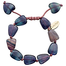 Buy Lola Rose Hannah Rainbow Fluorite Bracelet, Multi Online at johnlewis.com