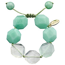 Buy Lola Rose Susanna Fluorite Bracelet, Green Online at johnlewis.com