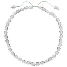 Buy Lola Rose Leila Fluorite Necklace, Grey Online at johnlewis.com