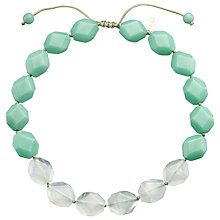 Buy Lola Rose Abbie Green Fluorite/Aqua Quartzite Necklace, Green Online at johnlewis.com