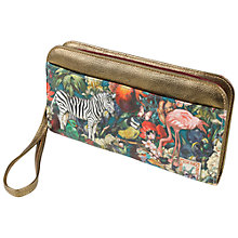 Buy Wanderlust Zebra Clutch Purse Online at johnlewis.com