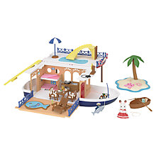 Buy Sylvanian Families Sea Cruiser Houseboat Online at johnlewis.com