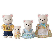 Buy Sylvanian Families Polar Bear Family, Pack of 4 Online at johnlewis.com