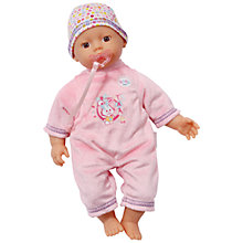 Buy My Little Baby Born Super Soft Doll Online at johnlewis.com