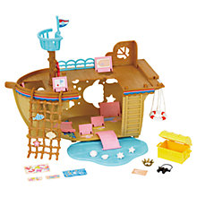 Buy Sylvanian Families Adventure Treasure Ship Online at johnlewis.com