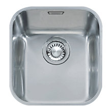 Buy Franke Ariane ARX 110-35 Single Bowl Sink, Stainless Steel Online at johnlewis.com