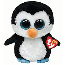 Buy Ty Beanie Boo Waddles Penguin Soft Toy, 16cm Online at johnlewis.com