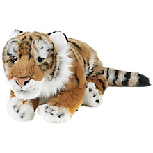 Buy Living Nature Tiger Soft Toy, 45cm Online at johnlewis.com