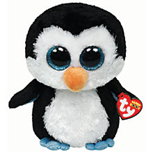 Buy Ty Beanie Boo Waddles Penguin Soft Toy, 25cm Online at johnlewis.com