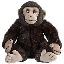 Buy Living Nature Chimp Soft Toy, 30cm Online at johnlewis.com