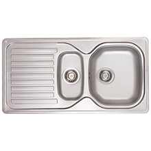 Buy Franke Elba ELN 651 1.5 Bowl Sink, Stainless Steel Online at johnlewis.com