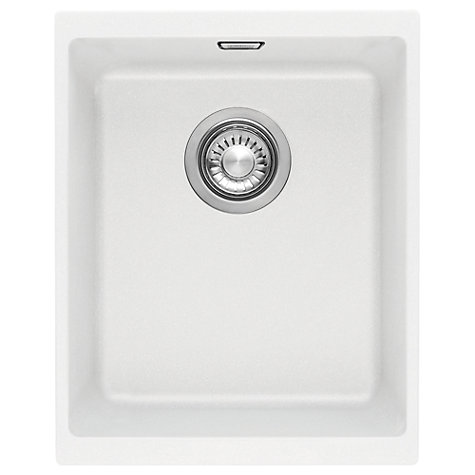 Buy Franke Sirius SID 11034 Single Bowl Sink, Polar White Online at ...