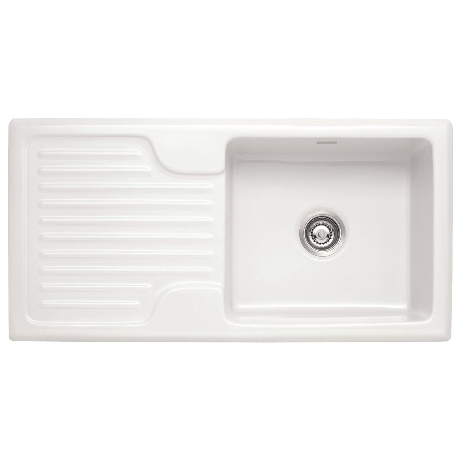 Franke Franke Galassia GAK 611 Single Bowl Sink, White