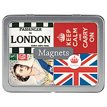 Buy Cavallini Vintage London Magnets, Set of 24 Online at johnlewis.com