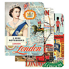 Buy Cavallini Vintage London Mini Notebooks, Set of 3 Online at johnlewis.com