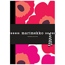Buy Marimekko Patterned Notebooks, Pack of 3 Online at johnlewis.com