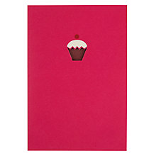Buy Art File Cupcake Greetings Card Online at johnlewis.com