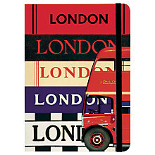 Buy Cavallini Vintage London City Guide Notebook Online at johnlewis.com