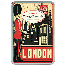 Buy Cavallini Vintage London Postcards, Set of 18 Online at johnlewis.com