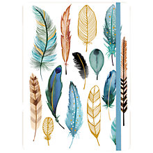 Buy Galison Feathers Gilded Journal Online at johnlewis.com