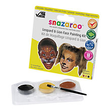 Buy Snazaroo Leopard and Lion Face Painting Kit Online at johnlewis.com