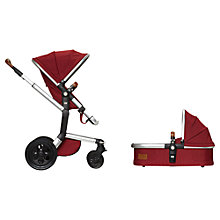 Buy Joolz Day Lobster Earth Pushchair with Carrycot and Free Footmuff Online at johnlewis.com