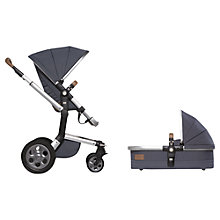 Buy Joolz Blue Day Quadro Pushchair with Carrycot and free Footmuff Online at johnlewis.com