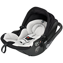 Buy Kiddy Evo-Lunafix Car Seat, Racing Black Online at johnlewis.com