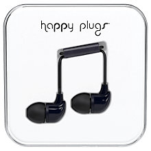 Buy Happy Plugs In-Ear Canal Headphones with Mic/Remote Online at johnlewis.com