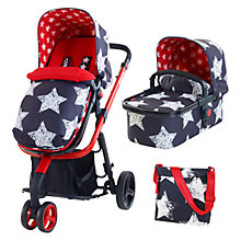Buy Cosatto Giggle 2 Travel System with Carrycot and Changing Bag, Hipster Online at johnlewis.com