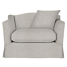 Buy John Lewis Melrose Loose Cover Snuggler with Scatter Cushion Online at johnlewis.com