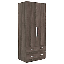 Buy John Lewis Leben 2 Door and 2 Draw 90cm Wardrobe Online at johnlewis.com