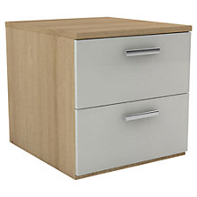 Buy John Lewis Leben 50cm Bedside Table Online at johnlewis.com